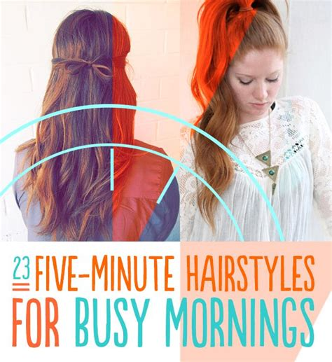 a quick and easy hairstyle i can fo myself frisuren morgen and haar on pinterest