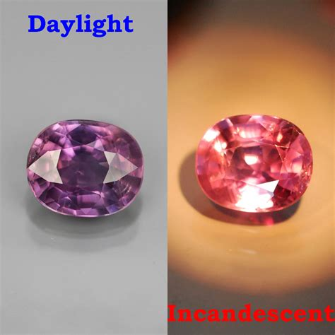 color change sapphire genuine color change sapphire 1 47ct 7 2x6 0x3 8mm si1