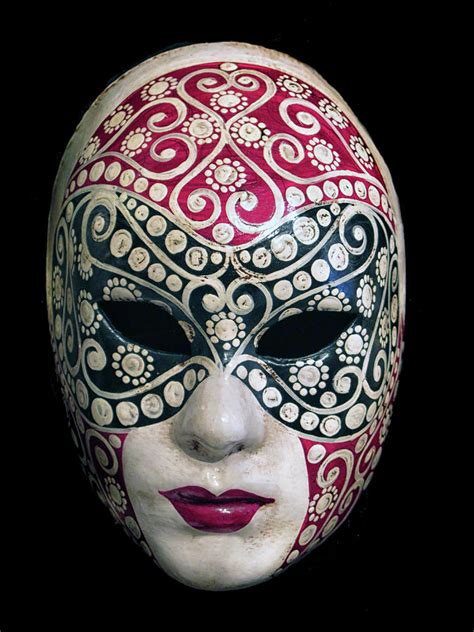 colorful venetian mask photograph by dave mills