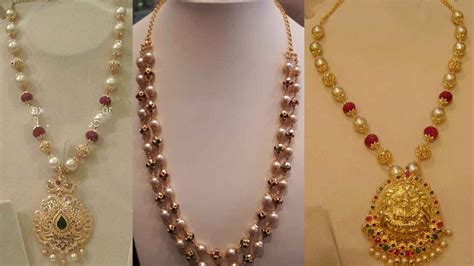 pearl necklace design pearl necklace indian www pixshark images