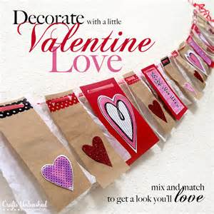 valentines decorations s day decorations mix and match banner bunting
