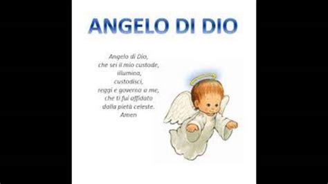 angelo testo angelo di dio