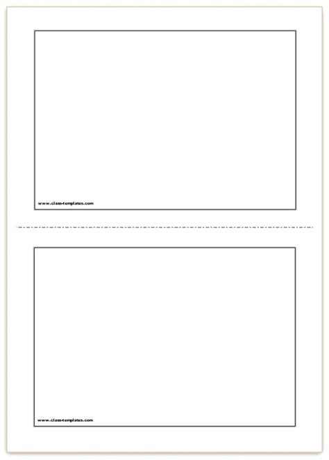 blank note card template printable card template free printable flash cards