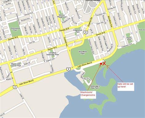 ta bay map the monday up ashbridges bay