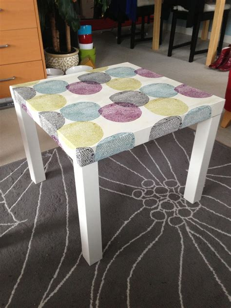 ikea lack table hack ikea lack table hack used a duvet cover and attached it