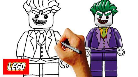 lego joker tutorial how to draw lego joker from lego batman movie step by step