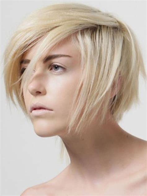 blonde hairstyles  short hair