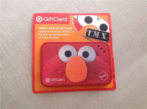 New Look Gift Card Code - new elmo tmx 10th anniversary target gift card htf works look sesame street