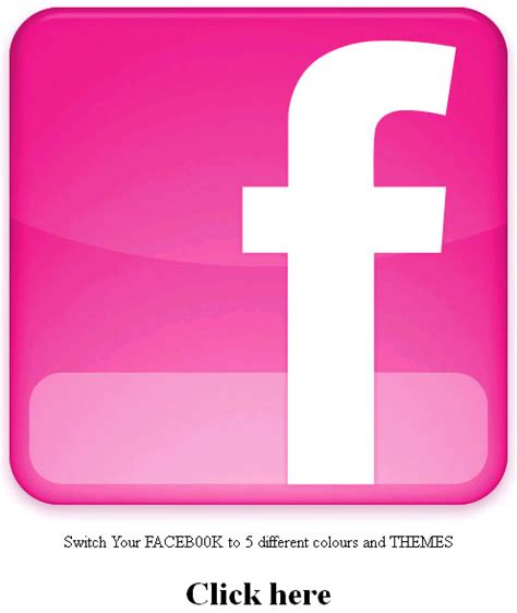 facebook themes pink cool hello pink faceb00k and goodbye blue faceb00k