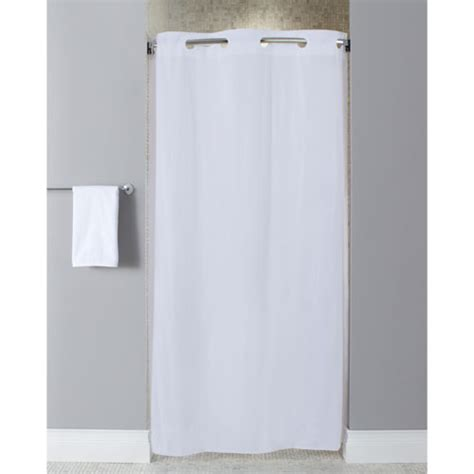 Hookless 174 10 Gauge Vinyl Shower Curtain Stall Size 42x74