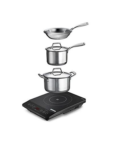 Cooktop Tramontina Tramontina 6 Portable Cooktop Induction Cooking