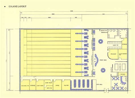 bowling alley floor plans bowling alley lane layout pictures to pin on pinterest