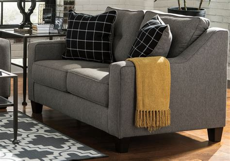 brindon charcoal sleeper sofa brindon charcoal sofa set louisville overstock warehouse