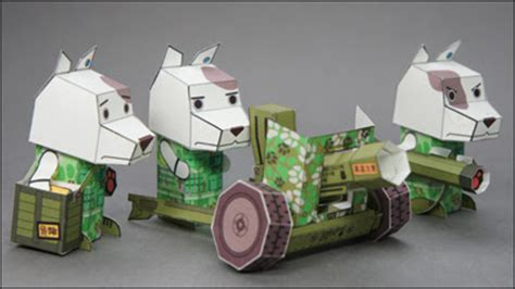 Papercraft Mobil - free papercraft and paper model march 2011