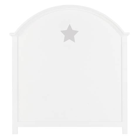 kinderbett kopfteil bett kopfteil aus holz f 252 r kinderbetten b 90 cm wei 223