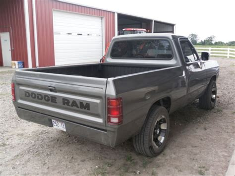 dodge ram tires and rims for sale 1991 dodge ram with 44 935 custom paint tires and