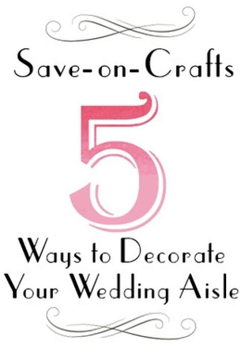 5 Ways To Be Trashy In Your Wedding Dress by Top 5 Ways To Decorate Your Wedding Aisle