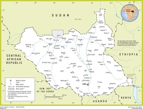 south sudan map south sudan s peace needs more than tents and generators crisis