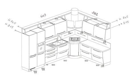 disegno cucina disegno cucina angolare xf39 pineglen