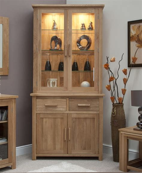 dining room display cabinets eton solid oak living dining room furniture small dresser