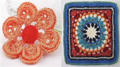 cuadro y flores tejidos a crochet n 186 02 youtube cuadros hechos con fotos great a mi abuela le encanta