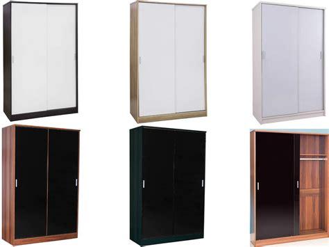 Black High Gloss Wardrobes by Caspian Supreme High Gloss Sliding Door Wardrobes Black Oak Walnut White Ebay