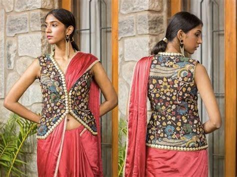 Blouse Jaket jacket blouse jacket blouse to style your saree