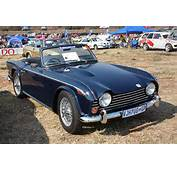 The Triumph TR Cars – TR5