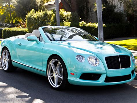 2013 Bentley Continental Gtc V8 Quot Tiffany Blue Quot Beverly