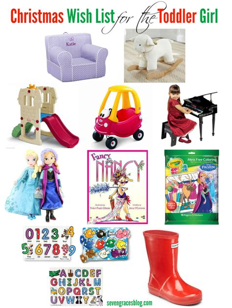 christmas wish list for the toddler seven graces