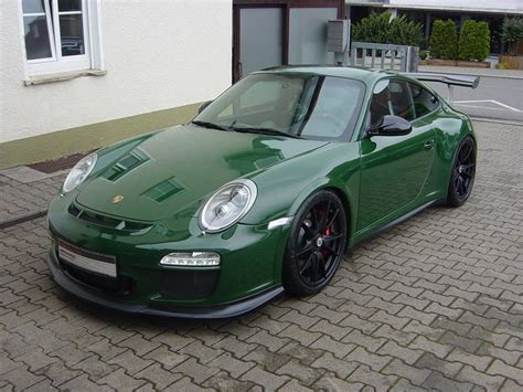 Unique British Racing Green Porsche 911 Gt3 Rs For Sale