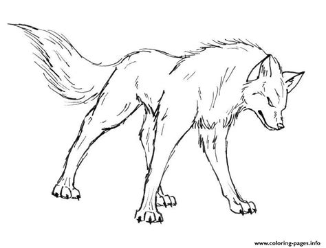 wolf coloring pages free printable cartoon wolf coloring