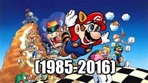 5 Of The Biggest Super Mario Controversies Youtube - evolucion de super mario bros 1985 2016 youtube