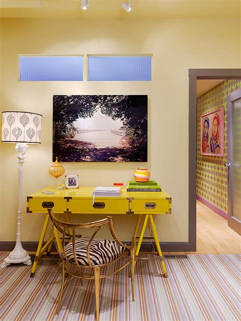 Great Office Decorating Ideas 31 Great Eclectic Home Office Design Ideas