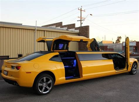 limousine lamborghini australians turn chevrolet camaro into gullwing stretch