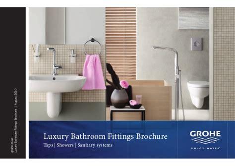 bathroom brochures uk grohe bathroom brochure taps4less com