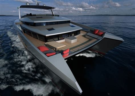 aluminium catamaran yacht alu marine luxury yacht charter superyacht news