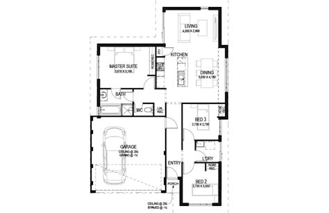 the freo 3 bed 1 bath 12 5m home design 114 990