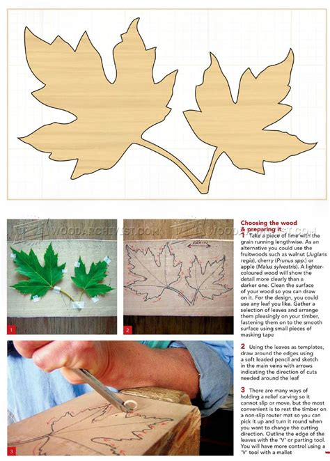 leaf pattern relief carving carving maple leaf in relief woodarchivist