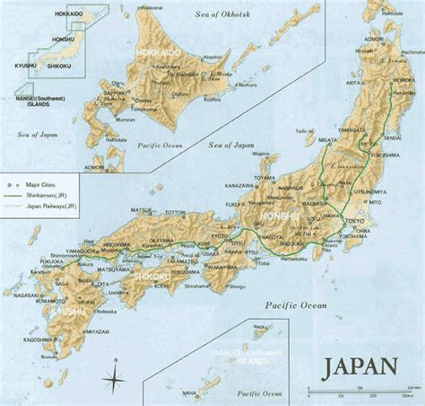 map japan maps of japan