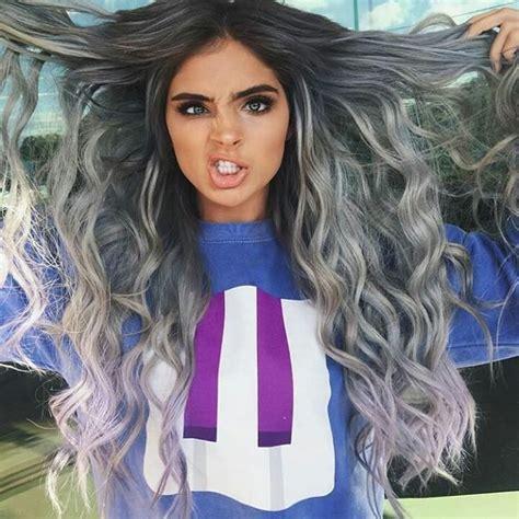 imgenes de cabellos teidos de gris el cabello en degrad 233 gris es el 250 ltimo grito de la moda