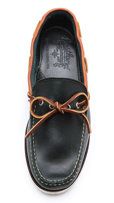 Handmade Moccasins Maine - eastland yarmouth usa c moccasins in black for lyst
