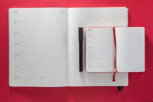 moleskine calendar template 12 month planners for 2017 moleskine