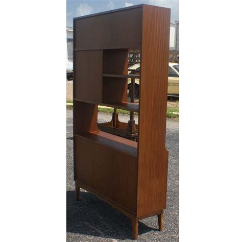 cabinet room vintage walnut bookcase display cabinet room divider ebay