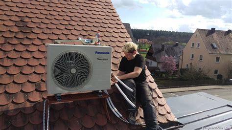 Klimaanlage Einbauen Wohnung by Klimaanlage Auf Dach Klimaanlage Und Heizung Zu Hause