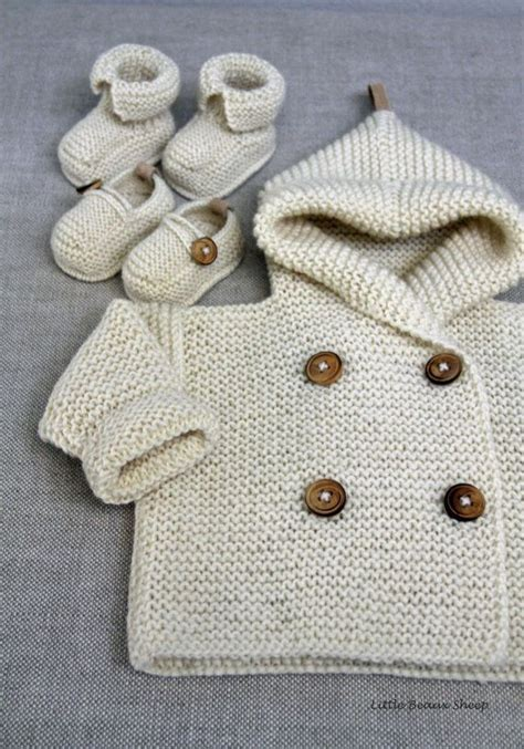 Handmade Knitted Sweaters - knitted handmade baby wool sweater coat size 0 6 months