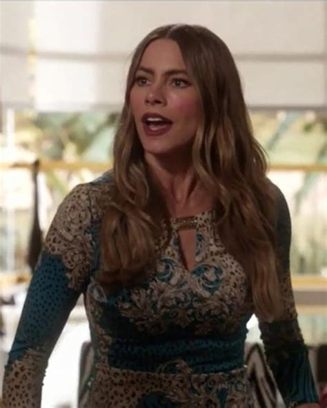 Top: sofia vergara, modern family, gloria pritchett, blue