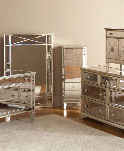 Mirrored Desk Accessories Mirrored Bedroom Furniture Sets Raya Furniture