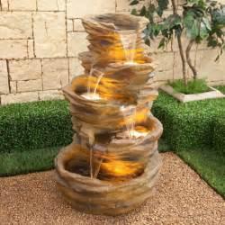 Backyard Pond Ideas With Waterfall Zierbrunnen F 252 R Ein Entspanntes Und Wohnliches Ambiente