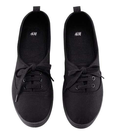 hm shoes h m shoes in black lyst